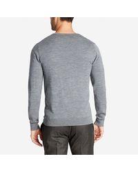 Bonobos - Gray Merino V-neck Sweater for Men - Lyst