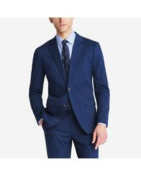 Bonobos - Blue Jetsetter Stretch Italian Cotton Suit Jacket for Men - Lyst