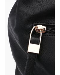 Boohoo - Black Millie Zip Window Shoulder Bag - Lyst