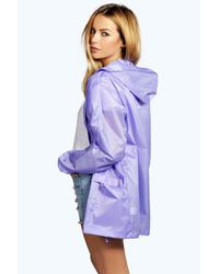 Boohoo - Purple Festival Mac - Lyst