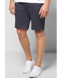 Boohoo - Blue Jersey Shorts In Short Length for Men - Lyst