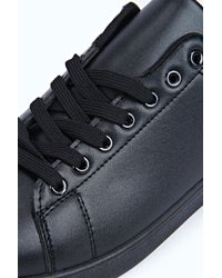Boohoo - Black Classic Trainers for Men - Lyst