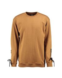 Boohoo - Multicolor Longline Sweatshirt With Lace Detail for Men - Lyst