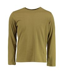 Boohoo | Green Long Sleeve Crew Neck T Shirt for Men | Lyst