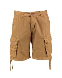 Boohoo - Multicolor Cargo Shorts With Drawcord for Men - Lyst