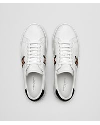Bottega Veneta - White Bianco/dahlia Calf Bv Checker Sneaker for Men - Lyst