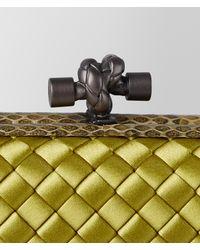Bottega Veneta - Multicolor Chamomile Intrecciato Impero Knot - Lyst