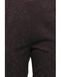 Paul & Joe - Black Patterned Slim Leg Pant - Lyst