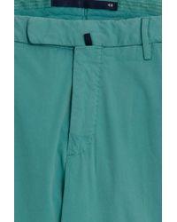 Incotex - Green Slim Fit Poplin Stretch for Men - Lyst