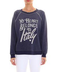 Wildfox - Blue My Heart Sweater - Lyst