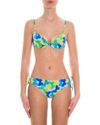 Missoni - Blue Butterfly Bikini - Lyst