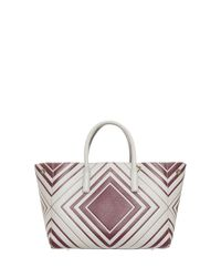 Anya Hindmarch - White Small Ebury Bag - Lyst