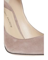 Paul Andrew - Natural Manhattan Heels - Lyst