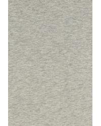 Vince - Gray Slub T-shirt - Lyst