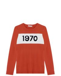Bella Freud - Red 1970 Sweater - Lyst