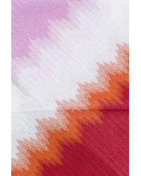 Missoni - Pink Skinny Scarf - Lyst