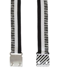 Missoni - Black Striped Belt - Lyst