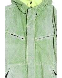 Stone Island - Green Reflective Jacket for Men - Lyst