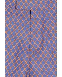 Frescobol Carioca - Blue Janelas Print Mid Swim Shorts for Men - Lyst