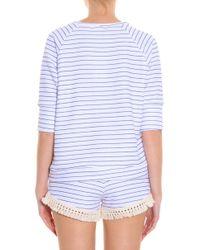 LNA - Multicolor Stripe Top - Lyst