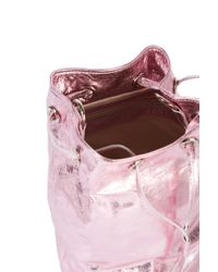 Paul & Joe - Pink Rosie Bucket Bag - Lyst