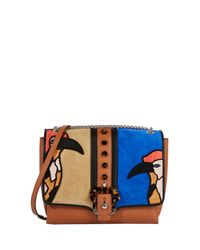 Paula Cademartori - Brown Alice Stud Bag - Lyst