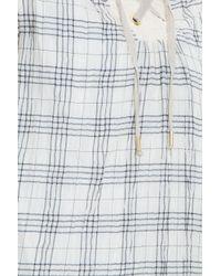 Paul & Joe - White Check Dress - Lyst