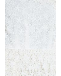 Paul & Joe - White Lace Top - Lyst