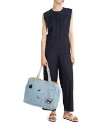 Paul & Joe - Blue Sunglass Jumpsuit - Lyst