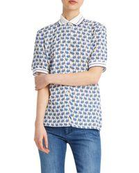 Paul & Joe - Blue Odyssee Whale Shirt - Lyst