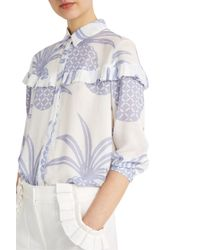 Paul & Joe - Blue Valentine Shirt - Lyst
