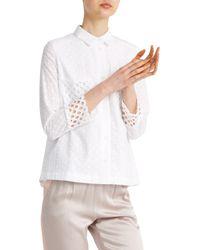 Paul & Joe - White Deanna Shirt - Lyst