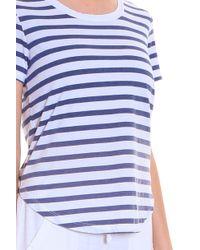 Splendid - Multicolor Fade Striped T-shirt - Lyst