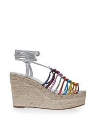 Chloé   Multicolor Espadrille Wedge Sandal   Lyst