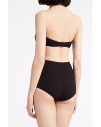 Lisa Marie Fernandez - Black Poppy High Waisted Bikini - Lyst