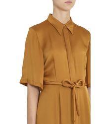 Merchant Archive - Orange Shirt Dress - Lyst