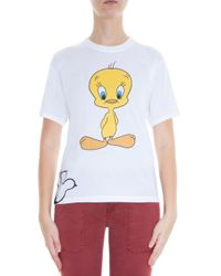 Paul & Joe - White Looney Tunes Tweety Bird T-shirt - Lyst