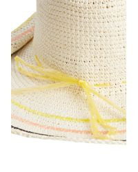 Sensi Studio - White Crochet Sunhat - Lyst