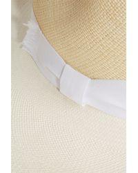 Sensi Studio - White Panama Ravel Hat - Lyst