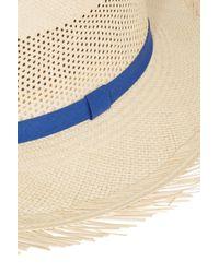 Sensi Studio - Blue Two Tone Calado Hat - Lyst