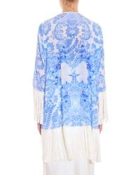 Athena Procopiou - Blue Up From The Skies Kimono - Lyst