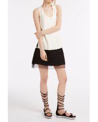 Giamba - Black Heart Tassel Skirt - Lyst