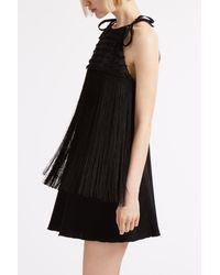 Giamba - Black Heart Tassel Halter Dress - Lyst