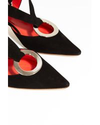 Proenza Schouler - Multicolor Suede Pointed Shoes - Lyst