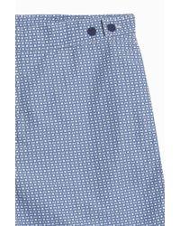 Frescobol Carioca - Blue Urca Tailored Shorts for Men - Lyst