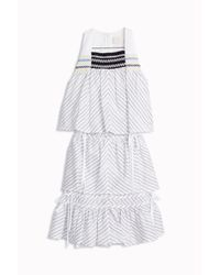Peter Pilotto - Multicolor Stripe Mini Dress - Lyst