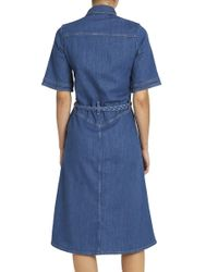 M.i.h Jeans - Blue 70's Denim Dress - Lyst
