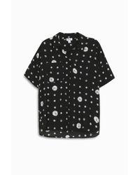 Splendid - Black Cotton Shirt - Lyst