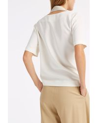 Acne Studios - White Maddock Cowl Top - Lyst