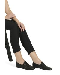 The Row - Black Alys Stacked Slippers - Lyst